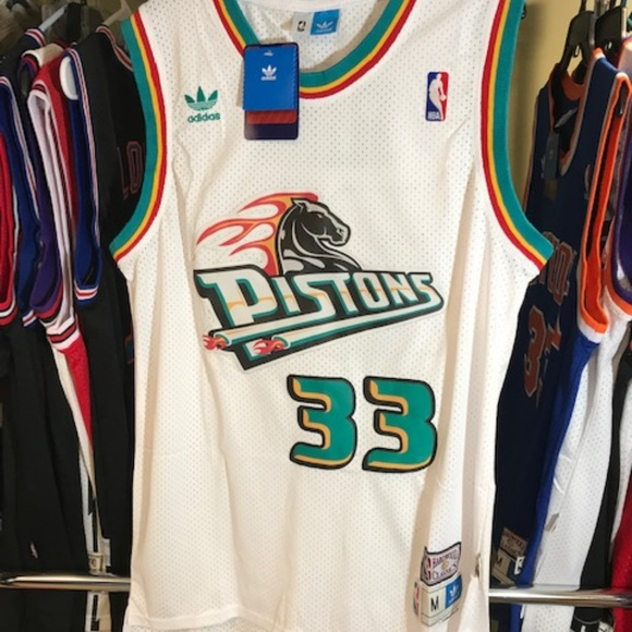 timeless design 0a8fe 823ca Vintage Grant Hill Pistons NBA Basketball Jersey NWT